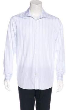 Calvin Klein Collection Striped Woven Shirt