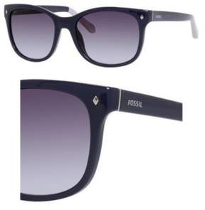 Fossil Sunglasses 3006/S 0JEZ Navy 55MM