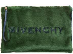 Givenchy Large Faux-fur Clutch
