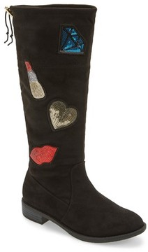 Sam Edelman Girl's Pia Patches Tall Boot
