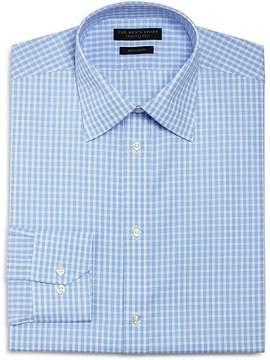 Bloomingdale's The Men's Store at Cross Check Regular Fit Dress Shirt - 100% Exclusive