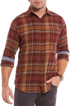 Daniel Cremieux Big & Tall Plaid Long-Sleeve Woven Shirt