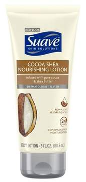 Suave Skin Solutions Smoothing with Cocoa Butter and Shea Body Lotion 3 oz