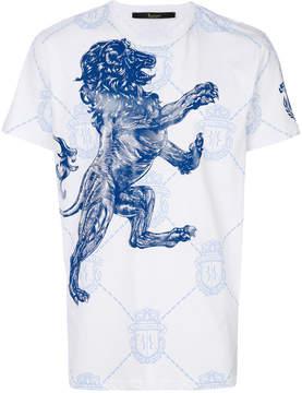 Billionaire lion printed T-shirt