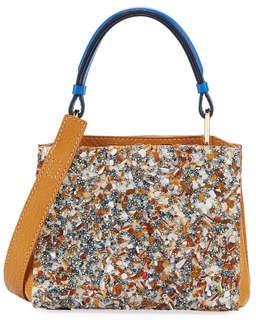 VBH Seven 20 Crystal Embellished Tote Bag, Tan