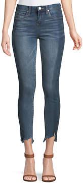 Blank NYC High-Rise Step-Hem Jeans