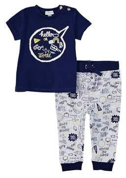 Absorba Boys' 2pc Shirt & Pant Set.