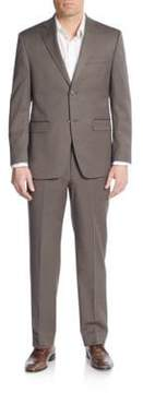Lauren Ralph Lauren Regular-Fit Solid Wool-Blend Suit