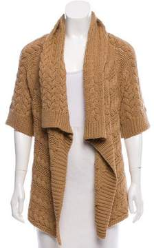 Calypso Three-Quarter-Sleeve Asymmetrical Cardigan