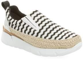MSGM Women's Mesh Slip-On Espadrille Sneaker