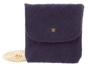 Chanel CC Quilted Coin Pouch