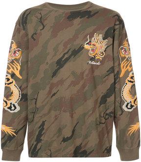 MHI camouflage dragon T-shirt