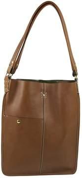 Ghurka Brown Leather Handbag