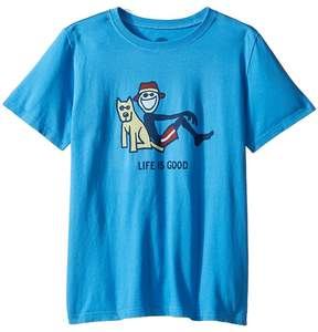 Life is Good Lean On Me Tee Boy's T Shirt
