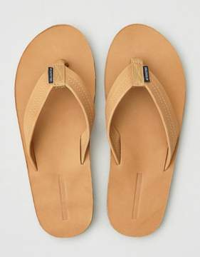 American Eagle Outfitters AE Nubuck Leather Flip-Flop