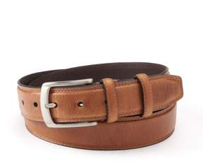 Dockers Men's Drop-Edge Stitched Leather Belt