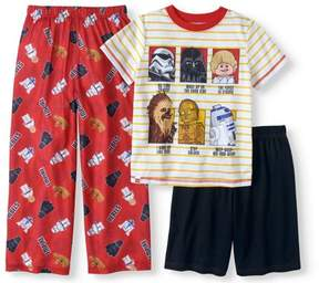 Star Wars Lego LEGO Boys' Character 3 Piece Pajama Set