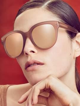 Linda Farrow Luxe Women's 18K Rose Gold Oversized Frame