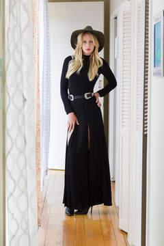 Flynn Skye Cedar Black Dress