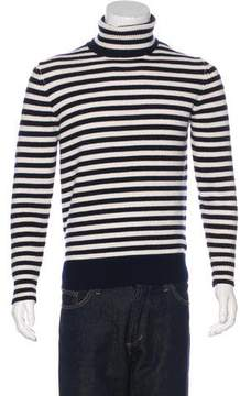 Moncler Striped Wool Turtleneck Sweater w/ Tags