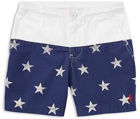 Polo Ralph Lauren Boys' Star-Print Poplin Shorts - Little Kid