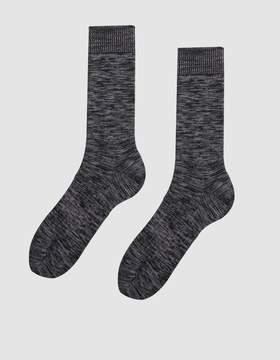 Norse Projects Bjarki Blend Socks in Heather