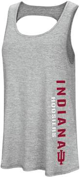 Colosseum Women's Indiana Hoosiers Twisted Back Tank Top