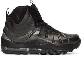 Nike Black Air Bakin Posite Sneakers
