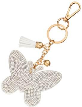 Mudd® Rhinestone Butterfly Key Chain