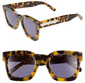 Karen Walker Women's X Monumental Pablo 50Mm Polarized Sunglasses - Crazy Tortoise