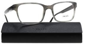 Prada Eyeglasses PR 6 UV VYR1O1 STRIPED BLACK