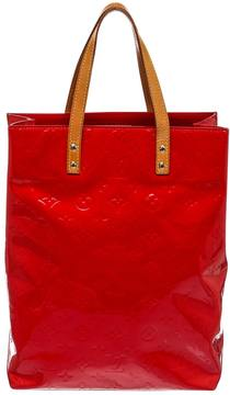 Louis Vuitton Tote w patent leather tote - RED - STYLE
