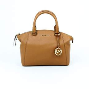 Michael Kors Riley Small Satchel Acorn $298 - ACORN - STYLE