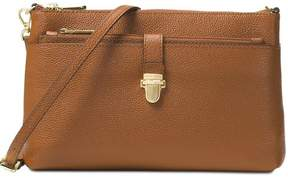 Michael Kors Mercer Large Snap Pocket Crossbody Luggage - Brown - 32H6GM9C3L-230 - BROWN - STYLE