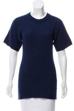 Creatures of Comfort Wool Short Sleeve Sweater