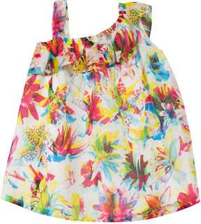 Junior Gaultier Ruffled Floral Dress