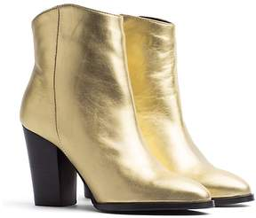 Tommy Hilfiger Metallic Heeled Boot