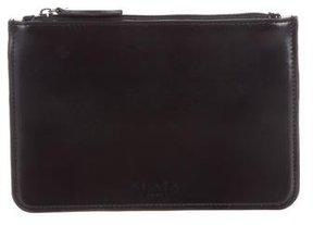 Alaïa Leather Zip Pouch