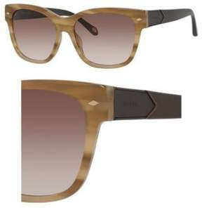 Fossil 2040/S Sunglasses 0RXM 55 Shell Beige (S8