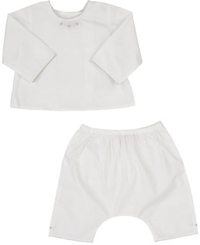 Bonpoint COTTON TOP & PANT SET