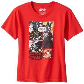 Star Wars Toddler Boy Darth Vader Comic Strip Graphic Tee