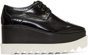 Stella McCartney Black Elyse Platform Brogues