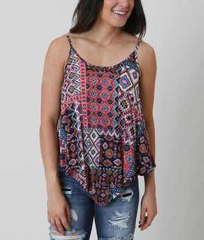 Eyeshadow Printed Tank Top