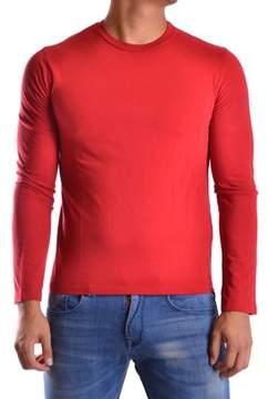Bikkembergs Men's Red Cotton T-shirt.
