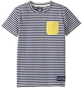 Toobydoo Yellow Pocket T-Shirt (Infant/Toddler/Little Kids/Big Kids)
