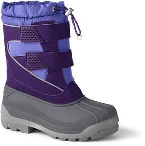 Lands' End Lands'end Kids Snow Plow Boots