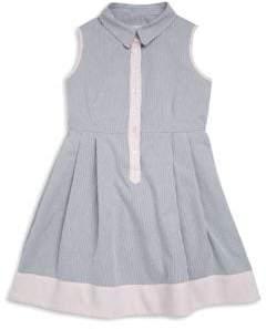 Milly Minis Toddler's, Little Girl's& Girl's Seersucker Classico Shirt Dress