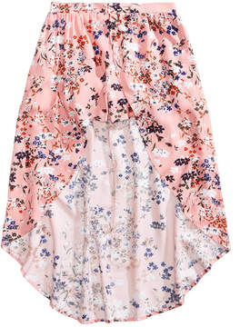 Love, Fire Floral-Print Maxi Shorts, Big Girls