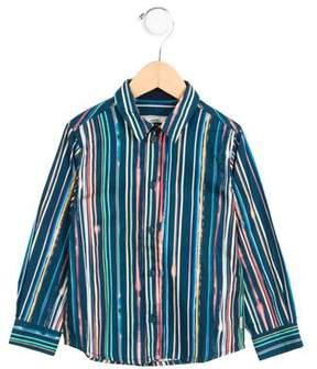 Paul Smith Boys' Long Sleeve Button-Up Shirt w/ Tags