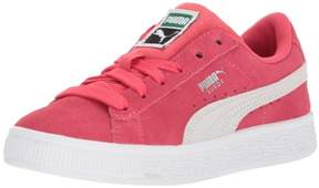 Puma 365076-04: Kids' Suede Classic Paradise Pink White Sneaker (5 M US Toddler)